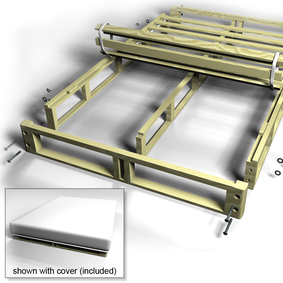 Easy Fit Box Spring | Split Box Spring - Queen Box Spring and King ...